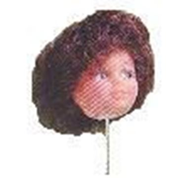 "1-1/2"" Plastic Doll Heads"