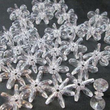 25mm Star Beads