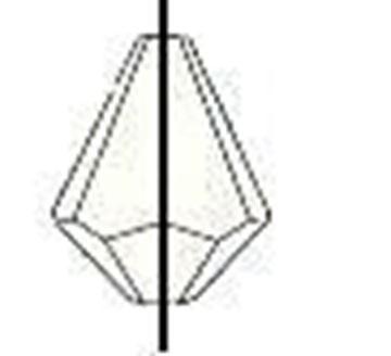 Iridescent Drop Beads