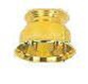 Bright Gold Plated Plastic Base