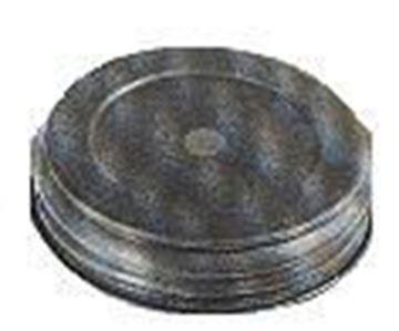 Pre-drilled Zinc Lids