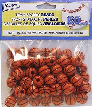 basket ball beads