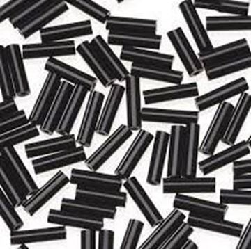 Black Bugle Beads