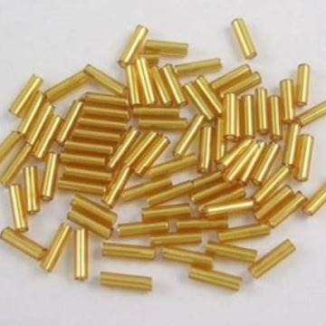 Gold Bugle Beads
