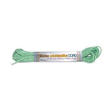 19 Green/Silver Darice Metallic Cord