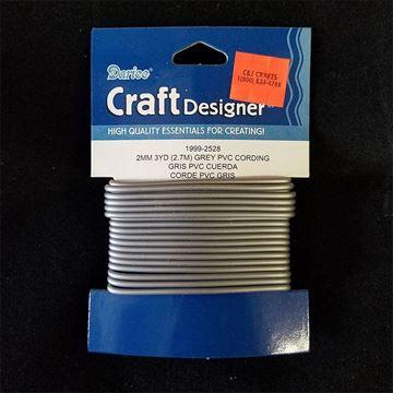 Grey PVC Cording