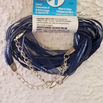 Navy Ribbon Set