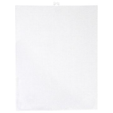 #10 White Darice Plastic Canvas