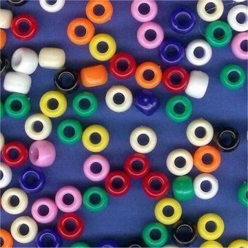 Opaque Pony Beads
